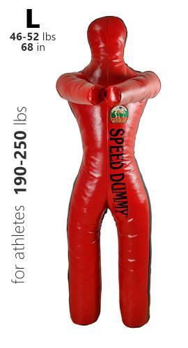 SUPLES: SPEED DUMMY MED BEN LARGE - 23kg
