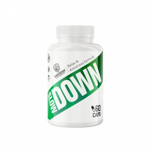 SWEDISH SUPPLEMENTS: SLOW DOWN - 60caps