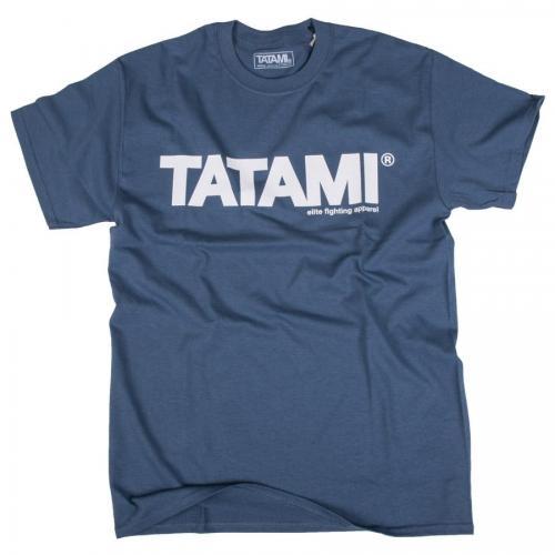 TATAMI: ESSENTIAL T-SHIRT - BLÅ