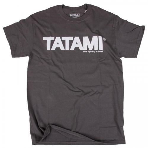 TATAMI: ESSENTIAL T-SHIRT - CHARCOAL
