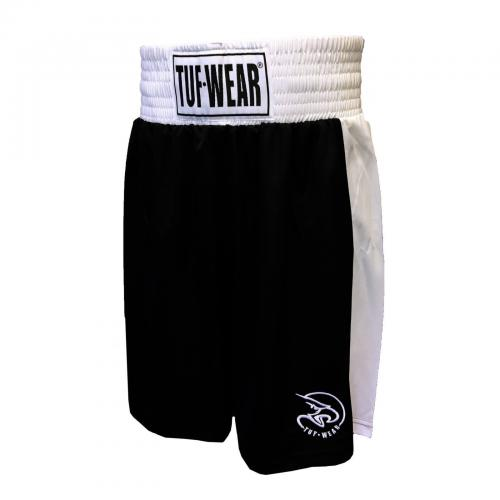 TUF WEAR: KIDS JUNIOR CLUB BOXNINGSSHORTS - SVART