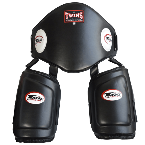 TWINS: BELLY/THIGH PAD - SVART