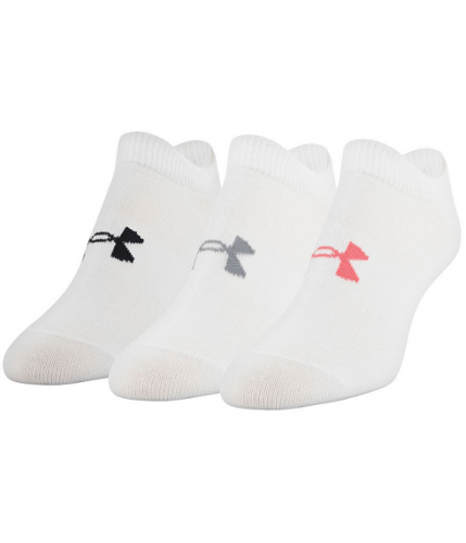 UNDER ARMOUR: WOMENS ESSENTIALS STRUMPOR 3-PACK - VIT