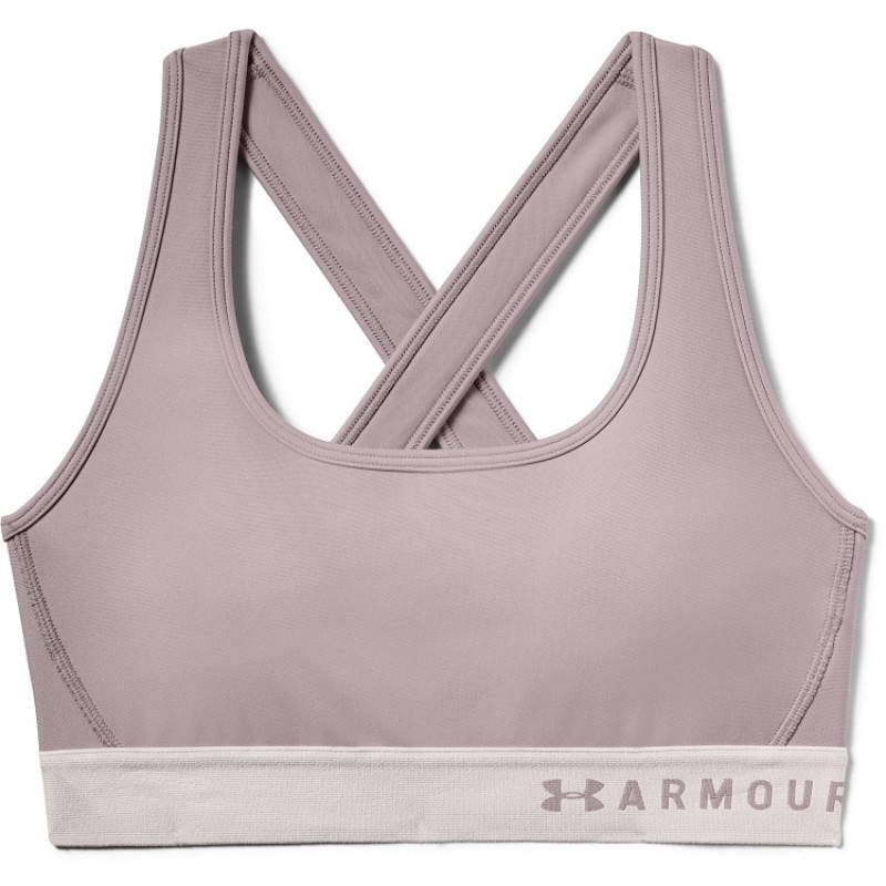 UNDER ARMOUR: MID CROSSBACK SPORT-BH - DASH PINK