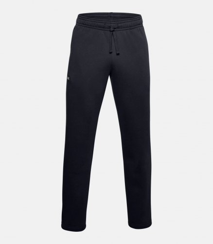 UNDER ARMOUR: RIVAL FLEECE BYXOR SVART