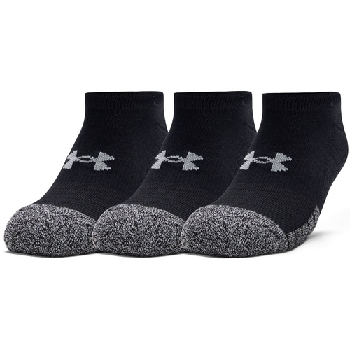 UNDER ARMOUR: HEATGEAR STRUMPOR 3-PACK SVART