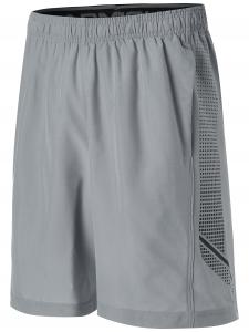 UNDER ARMOUR: WOVEN GRAPHIC SHORTS - GRÅ