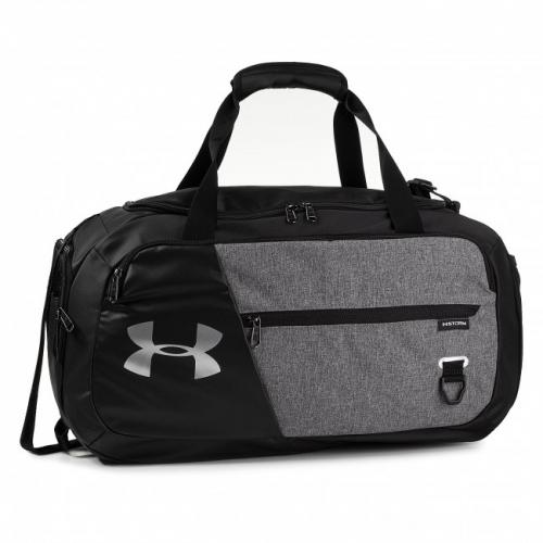 UNDER ARMOUR: UNDENIABLE DUFFEL 4.0 VÄSKA - SVART/GRÅ