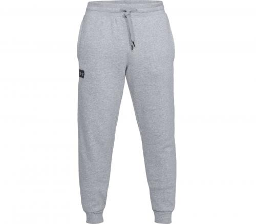 UNDER ARMOUR: RIVAL FLEECE BYXOR - GRÅ