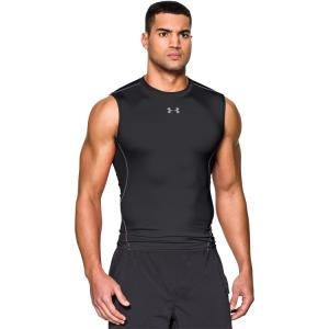 UNDER ARMOUR: HEATGEAR KOMPRESSIONS LINNE - SVART