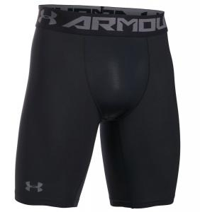 UNDER ARMOUR: HEATGEAR 2.0 LÅNGA KOMPRESSIONSSHORTS - SVART
