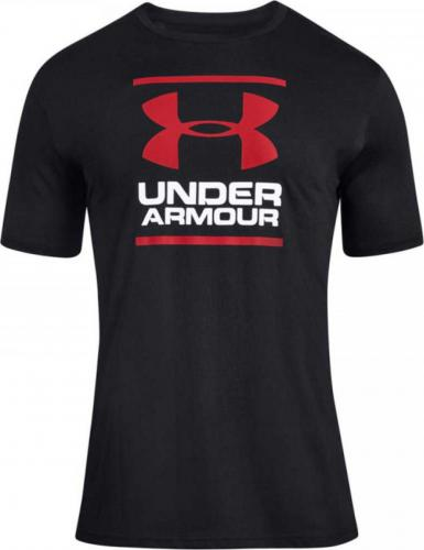 UNDER ARMOUR: GL FOUNDATION T-SHIRT - SVART