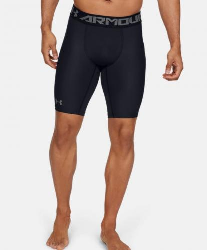 UNDER ARMOUR: HEATGEAR ARMOUR 2.0 LÅNGA KOMPRESSIONSSHORTS - SVART