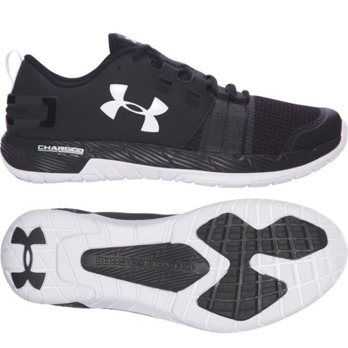UNDER ARMOUR: COMMIT TRAINING SKOR - SVART