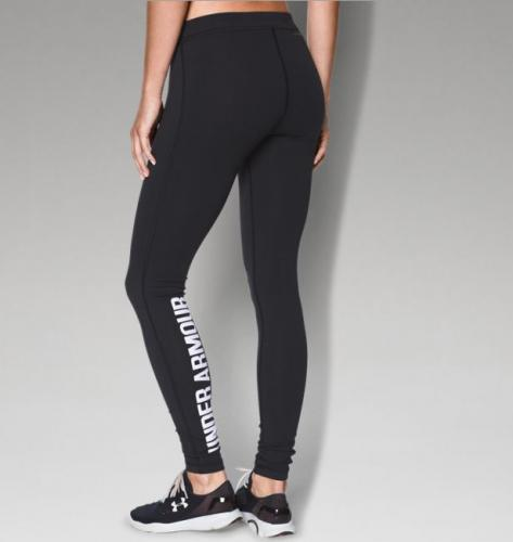 UNDER ARMOUR: WOMENS FAVORITE LEGGINGS- SVART