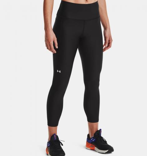 UNDER ARMOUR: WOMEN'S HEATGEAR® NO-SLIP HIGH-RISE LEGGINGS - BLACK