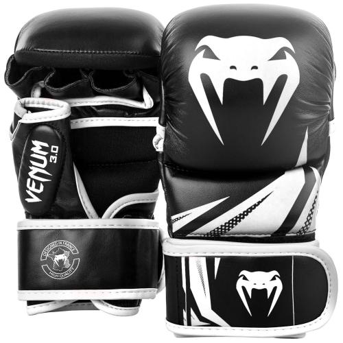 VENUM: MMA CHALLENGER 3.0 SPARRINGHANDSKAR - SVART/VIT