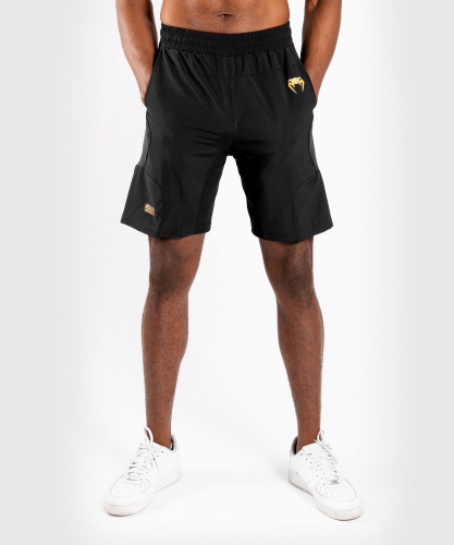 VENUM: G-FIT TRAINING SHORTS - SVART/GULD