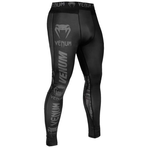 VENUM: LOGO TIGHTS - SVART/GRÅ