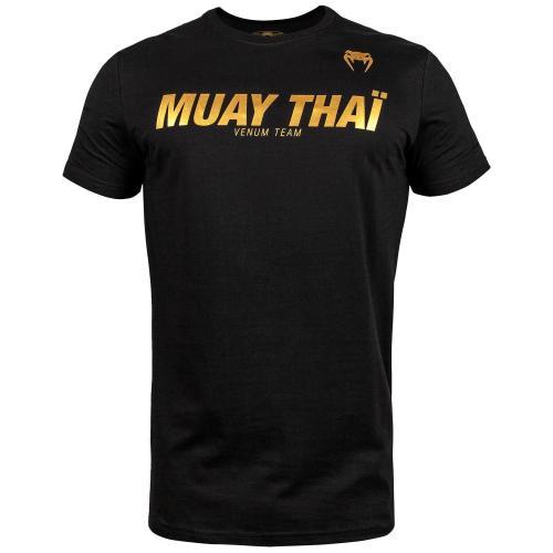 VENUM: MUAY THAI VT T-SHIRT - SVART/GULD