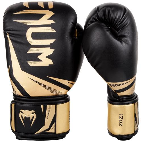 7ba5992d78a31b VENUM: CHALLENGER 3.0 BOXING GLOVES - BLACK/GOLD