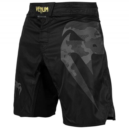 VENUM: LIGHT 3.0 FIGHTSHORTS - SVART/CAMOU/GRÅ