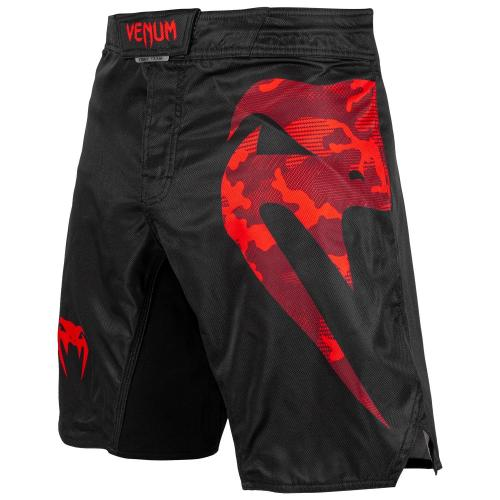 VENUM: LIGHT 3.0 FIGHTSHORTS - SVART/RÖD