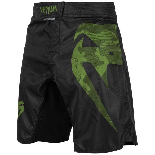 VENUM: LIGHT 3.0 FIGHTSHORTS - SVART/GRÖN