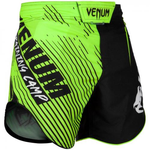 VENUM: TRAINING CAMP 2.0 FIGHTSHORTS - SVART/NEON