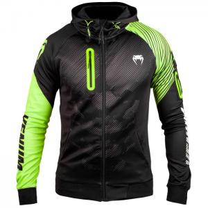 VENUM: TRAINING CAMP 2.0 HOODY - SVART/NEON