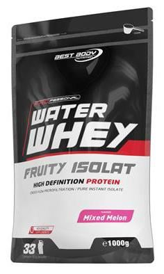 BEST BODY NUTRITION: WATER WHEY FRUITY ISOLAT PROTEIN - 1kg