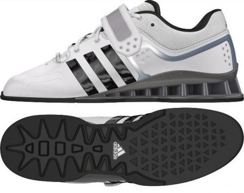 ADIDAS: ADIPOWER WHITE WEIGHTLIFTING SKOR