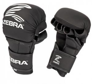 ZEBRA ATHLETICS: MMA SPARRING HANDSKAR - SVART
