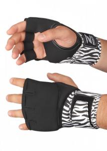 ZEBRA ATHLETICS: PRO QUICK WRAP HANDSKAR - SVART