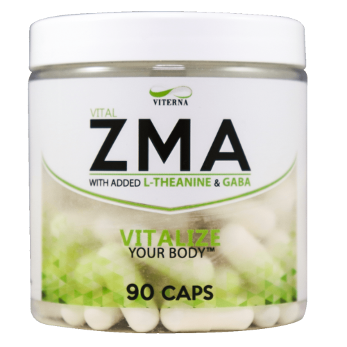 VITERNA: ZMA WITH GABA & L-THEANINE - 90 kapslar