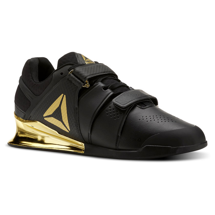 Reebok Legacy Lifter Womens Weightlifting Shoes Black Gym Lifting Boots