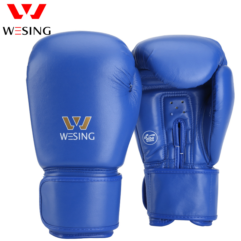 WESING: AIBA APPROVED BOXING GLOVES - BLUE