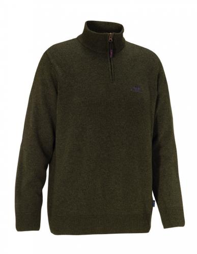 Kyle M - Brown Half-Zip