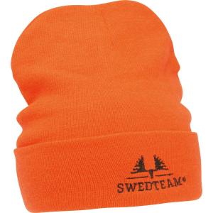Knitted Beanie - Orange