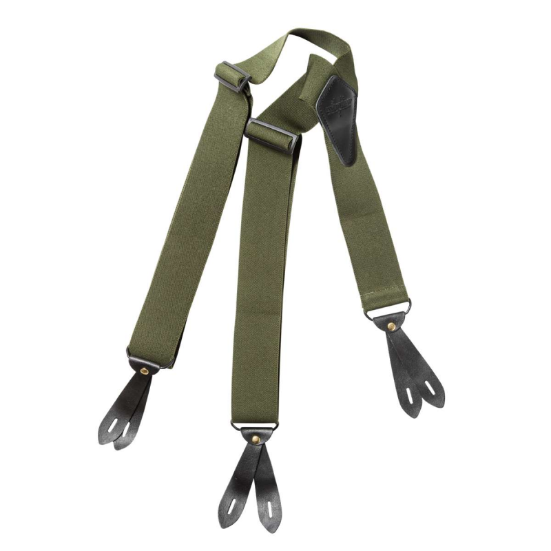 Strap Green Suspenders