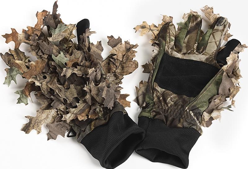 Wood Leaf Camo M Handske