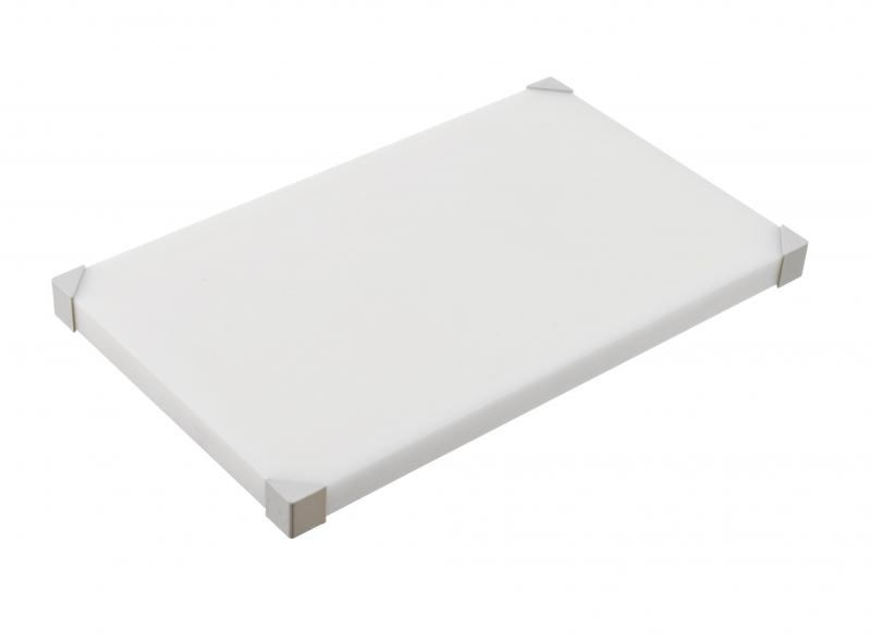 Cut board 504x304x34mm white