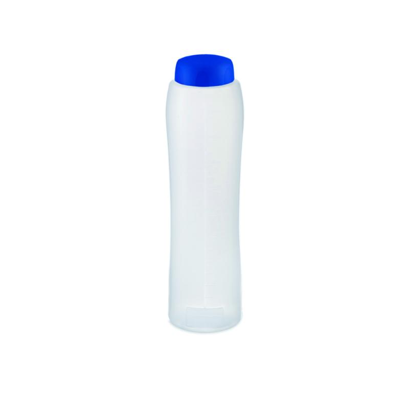 Botle for liquid 1l blue