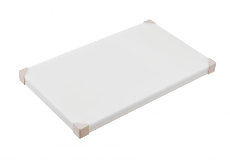 Cut board 604x404x24mm white