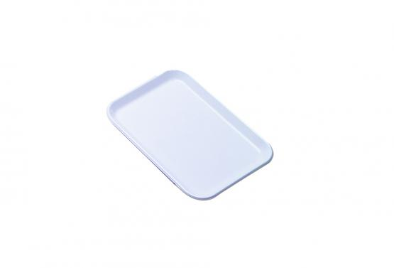 Flat tray nº1 white