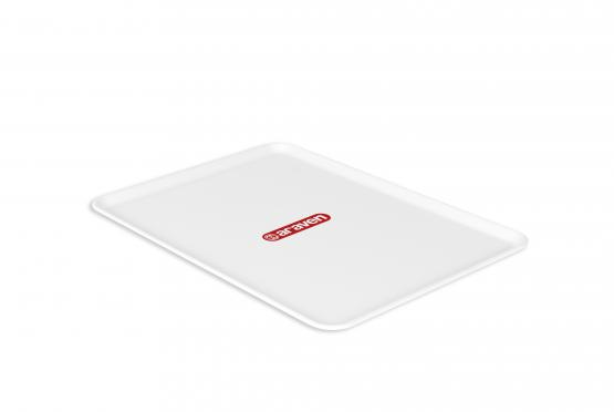 Flat tray nº4 white