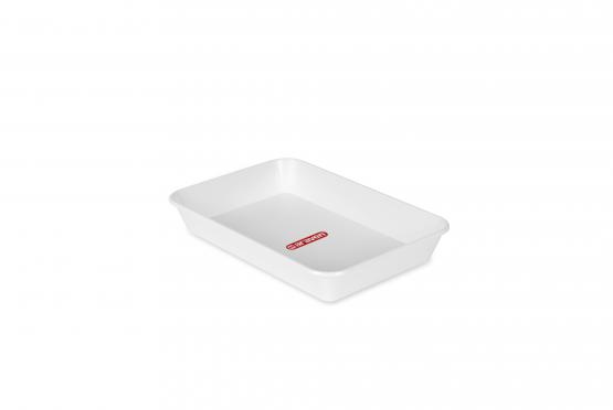 Deep tray nº2 white
