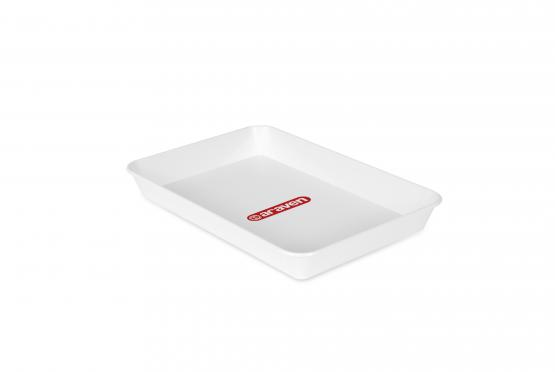 Deep tray nº3 white