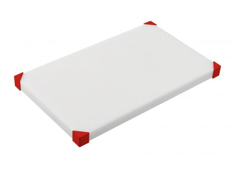 Cut Board 504X304X34Mm Red