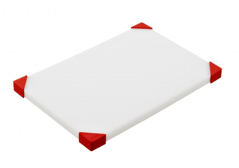 Cut board 304x204x15mm red